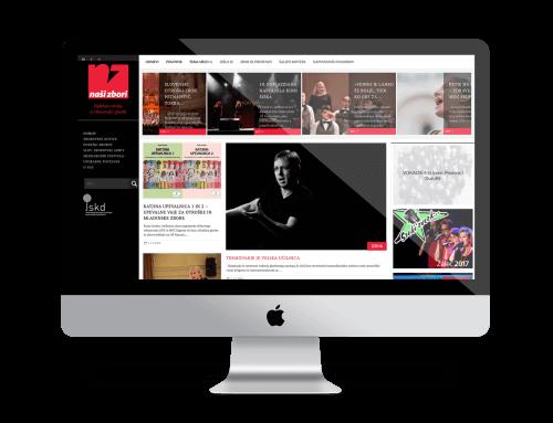 Spletna stran – Naši zbori