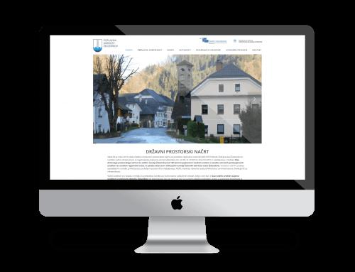 Spletna stran – Poplavna varnost Železnikov