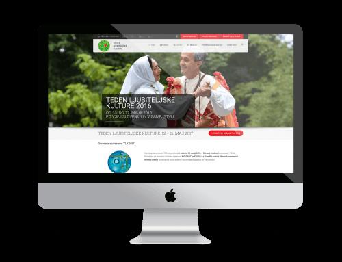 Spletna stran – Teden ljubiteljske kulture
